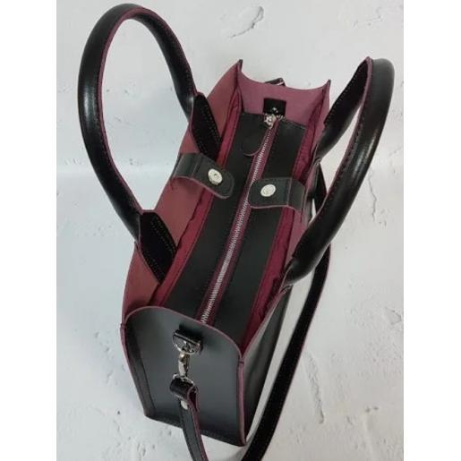 Женская кожаная сумка Nicoletta AE-30-17 Черный