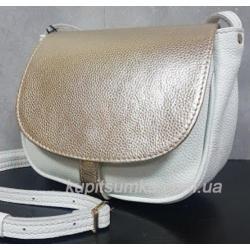 Женская кожаная сумка Boston PUM1-32 Белый