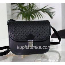 Женская сумка из натуральной кожи 23А Черный