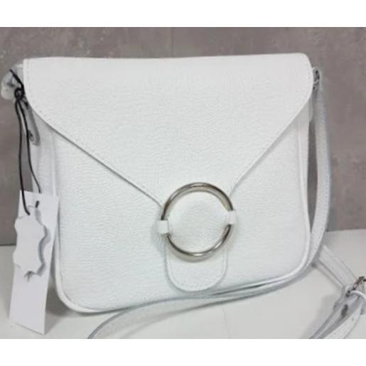 Кожаный женский клатч Jenny DEL24A-2 Белый