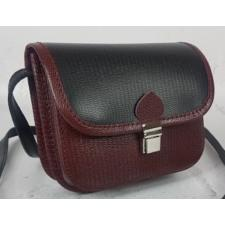 Женская сумка-мессенджер из кожи 23AE-16 Бордовый