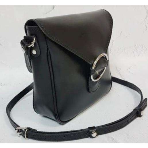 Женский кожаный клатч Jenny DEL24A-1 Черный