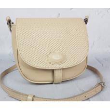 Женская кожаная сумка Boston AE30-50 Бежевый