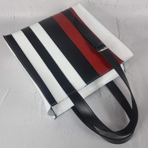 Женская сумка Adriana из натуральной кожи KE15A-3 Белый