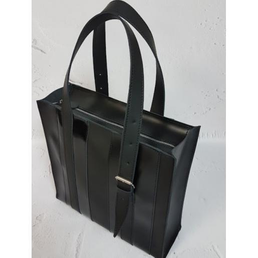 Женская кожаная сумка Adriana  KE15A-4 Черный