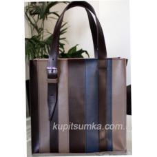 Женская сумка Adriana из натуральной кожи Латте