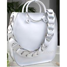 Женская сумка Anneta из натуральной кожи Белая