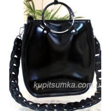 Женская сумка Anneta из натуральной кожи Черный