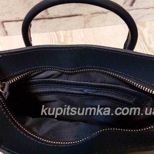 Оригинальная женская сумка Anneta из натуральной кожи Синяя