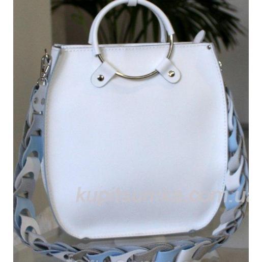 Женская сумка Anneta из натуральной кожи Белый