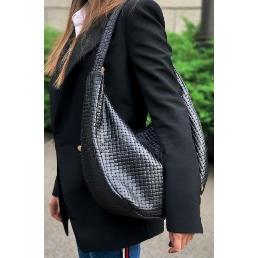 Женская кожаная сумка Bianca B12A-1 Черный