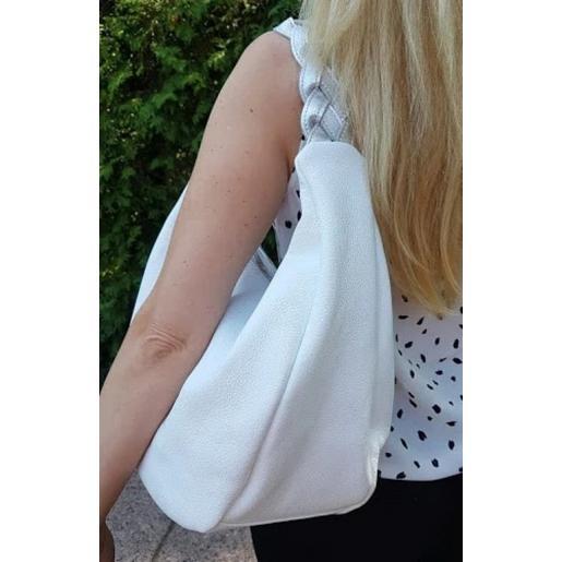 Женская кожаная сумка Bianca 3AK-1 White