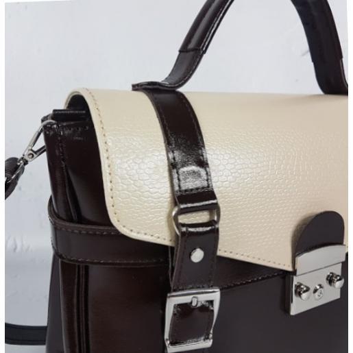 Кожаная сумка - саквояж Boston Bost-3 Brown