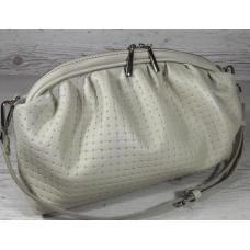 Идеальная женская сумка кремового цвета из натуральной кожи