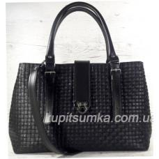 Женская сумка Chloé из натуральной кожи 27А Чёрный