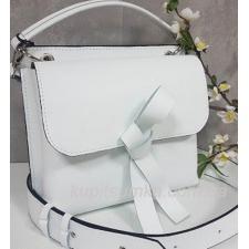 Завораживающая кожаная сумочка Fabiola Белая