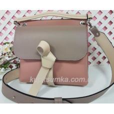 Женская кожаная сумка Fabiola 35A-1 Pink