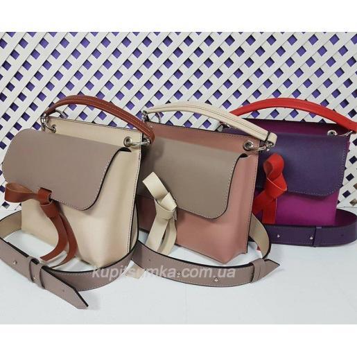 Женская кожаная сумочка Fabiola 35A-1 Белый