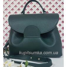 Женская кожаная сумка Vintage FID4 Зеленый