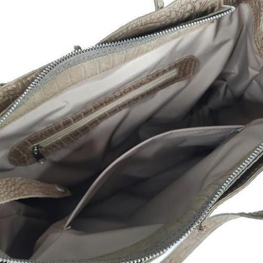 Сумка женская кожаная коричневая ETERNO EK26-A-40