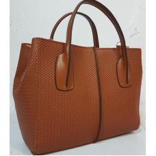 Кожаная женская сумка ETERNO EK26-A-4 Рыжий