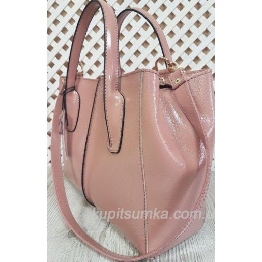 Женская кожаная сумка ETERNO EK26-A-11 Розовый