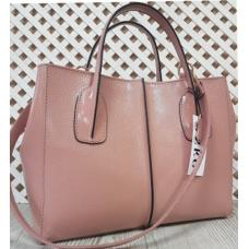 Женская сумка из натуральной кожи ETERNO EK26-A47 Розовый