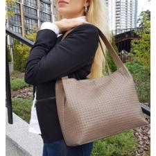 Кожаная женская сумка Bottega BOT12-1A Капучино