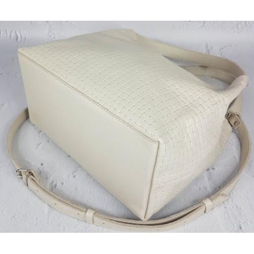 Женская сумка Bottega из кожи KE12A-8 Бежевый