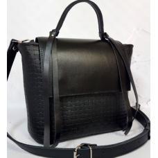 Женская сумка кожаная Kerri KER31-2 Черный
