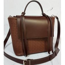Женская кожаная сумка Kerri KER31-3 Коричневый