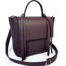 Женская кожаная сумка Kerri KER31-1Сиреневый