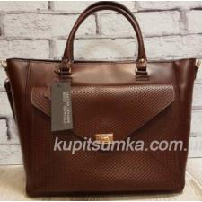 Женская сумка Mirella из натуральной кожи Коричневая