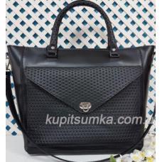 Женская сумка Mirella из натуральной кожи Чёрная