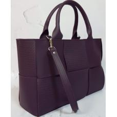 Женская сумка кожаная Marcela E15A-2 Сливовый