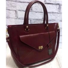 Женская кожаная сумка Mirella VON-3A-11 burgundy