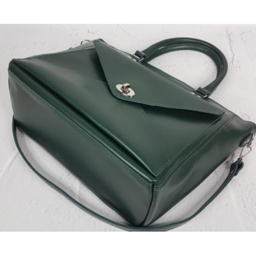 Женская кожаная сумка Mirella VON-1A-5 Зеленый