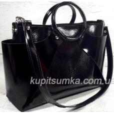 Женская кожаная сумка Marco RON15A-4 Черный