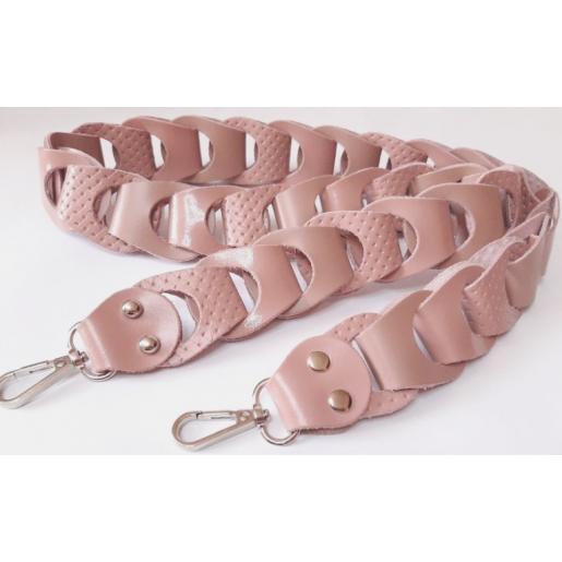 Женская кожаная сумка PON15A-18 pink