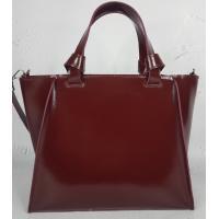 Кожаная женская сумка PEK20-45 Бордовый