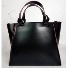 Женская кожаная сумка Prague PEK20-1 Черный
