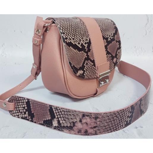 Женская сумка кожаная Navetta AE30-7 Розовый