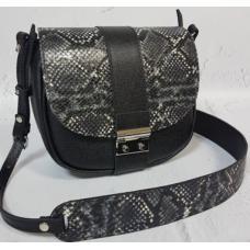 Женская сумка кожаная Navetta AE30-2 Черный