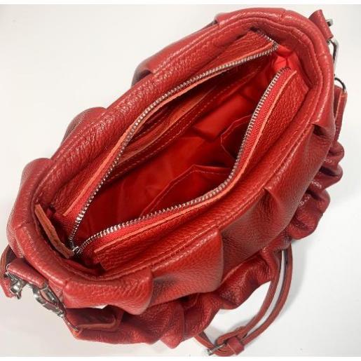 Женская кожаная сумка Paola EK-98-1 Красный