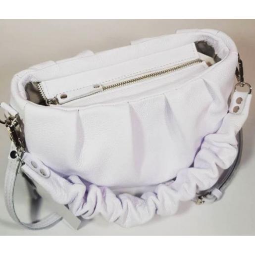 Женская кожаная сумка Paola EK-9-4-1 Белый