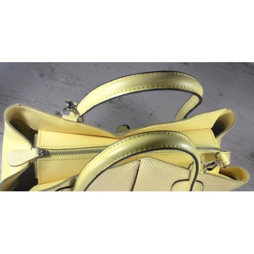 Женская кожаная сумка ETERNO EK26-A-35 Желтый