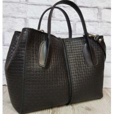 Женская кожаная сумка ETERNO 34EK26A Черный