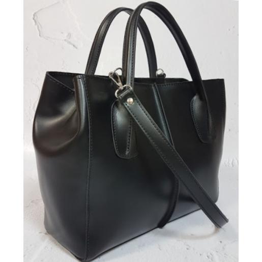 Кожаная женская сумка ETERNO EK/26-A -1 Черный