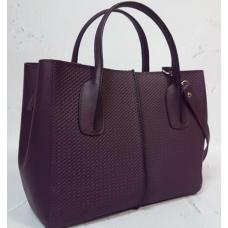 Женская сумка кожаная ETERNO EK26-A-230 Сливовый