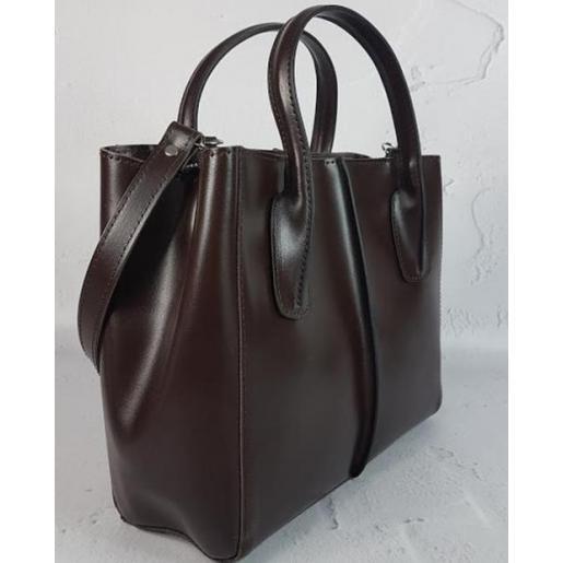 Женская кожаная сумка ETERNO EK26A36 Коричневый